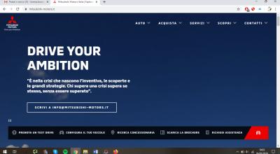 Campagna Mitsubishi Motors Italia Lockdown 2020