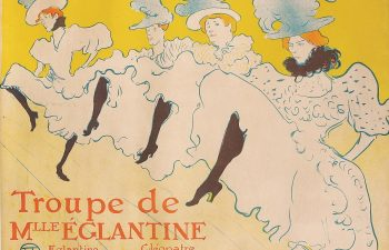 """""""Troupe de Mlle Églantine"""" di Toulouse Lautrec"""